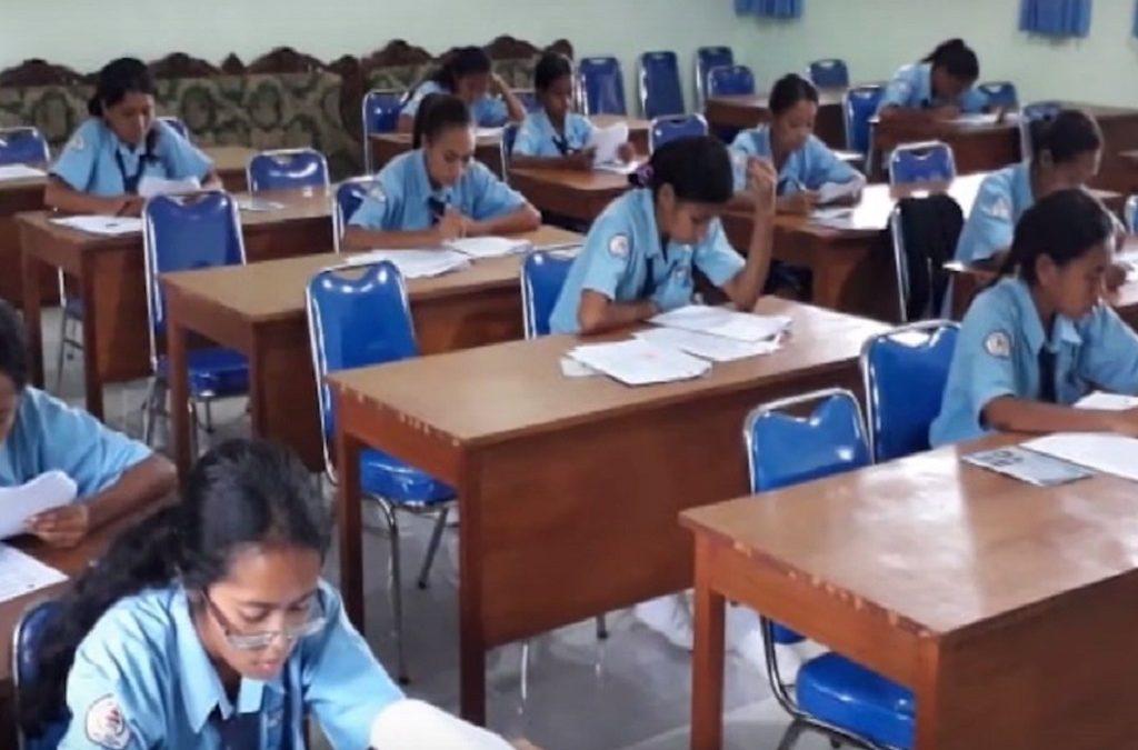 Tes Seleksi Calon Peserta Didik Jalur Beasiswa dari Kabupaten Sikka